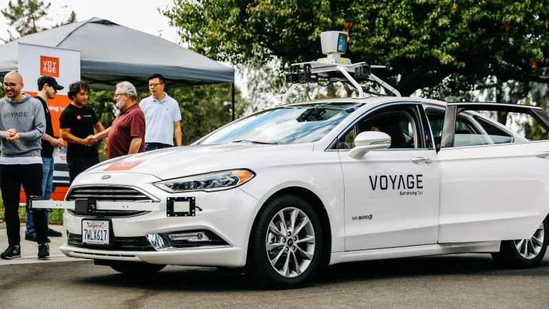 Self Driving Cars Downtowns